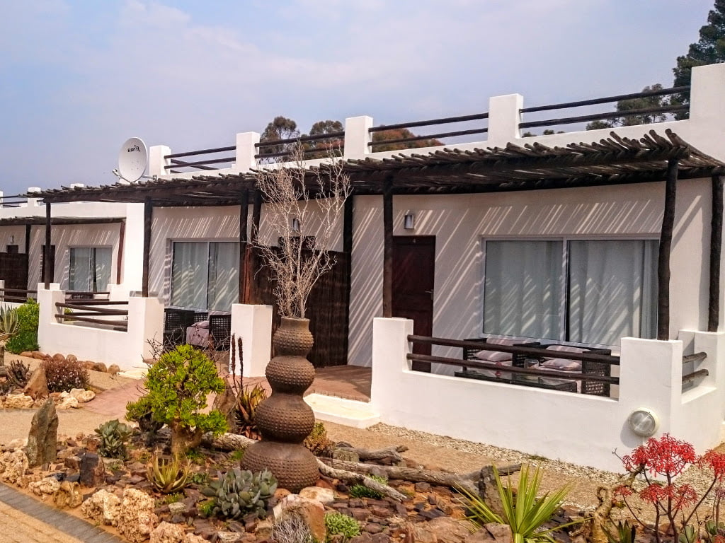 Exterior view of the Ambassador Chalet at Inverdoorn Private Reserve