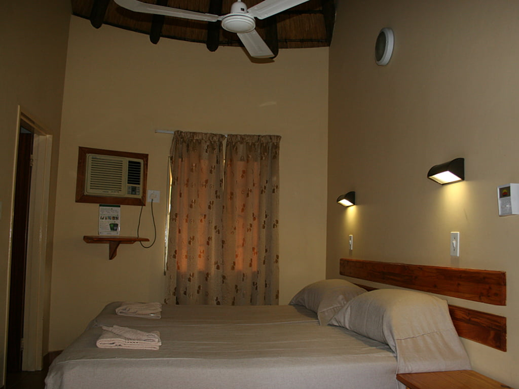 Interior of the chalet at the Kruger National Park