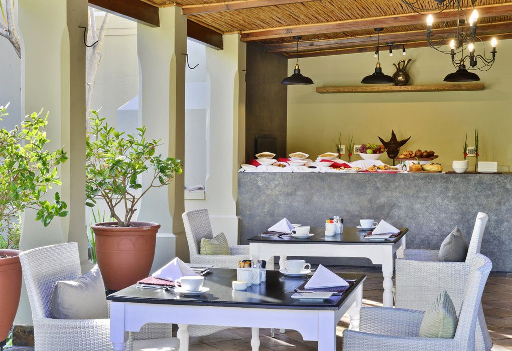 The Breakfast area at Tilney Manor in the Sanbona Private Reserve