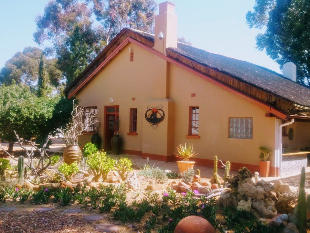 Exterior of the Lodge Rooms at Inverdoorn Private Reserve
