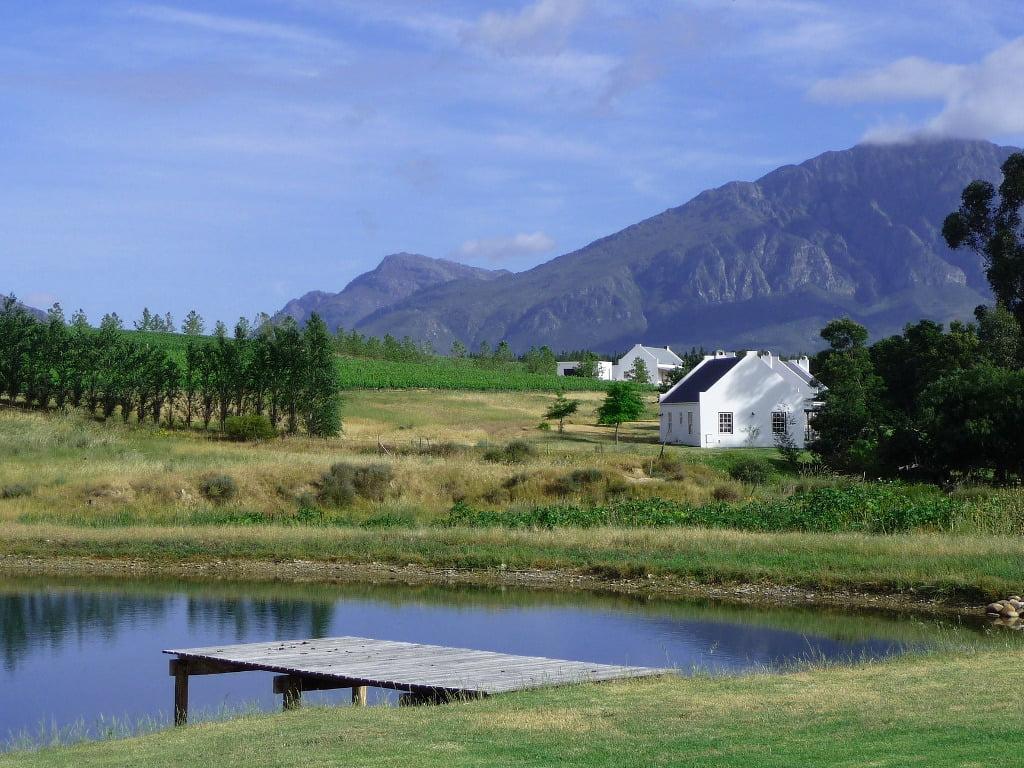 Cape Winelands dam